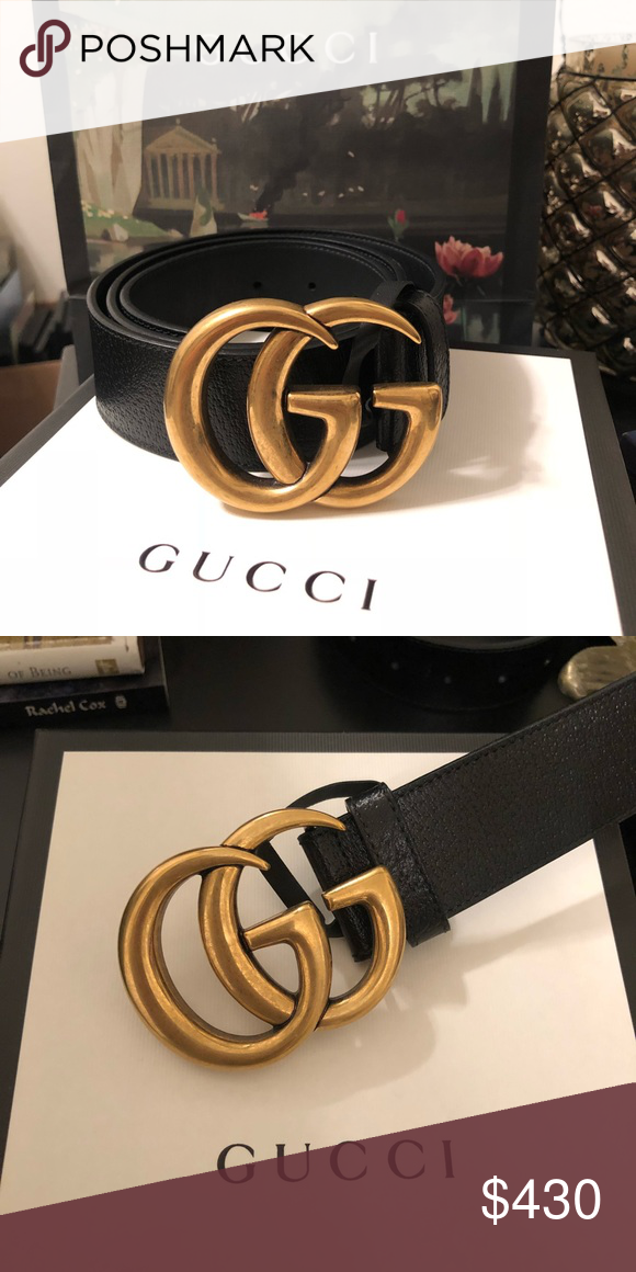 2af2ef06cad Gucci Belt Hardly worn double G black Gucci belt looks brand new! Gucci  Accessories Belts