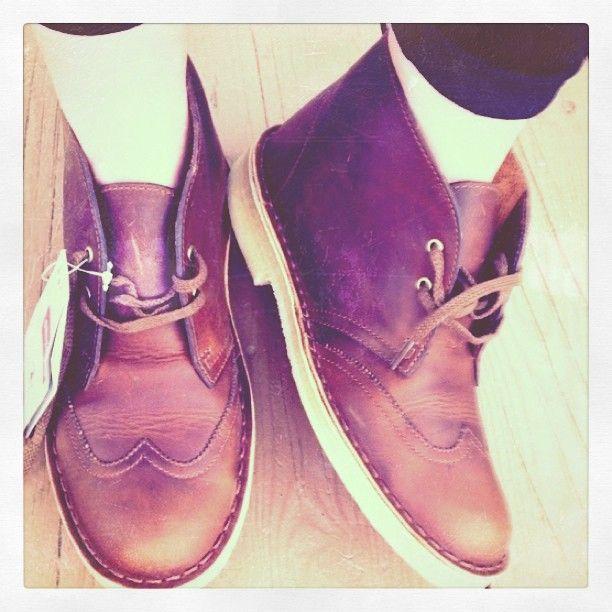 Clarks Originals Desert Boot Leather Lace Up Comfy