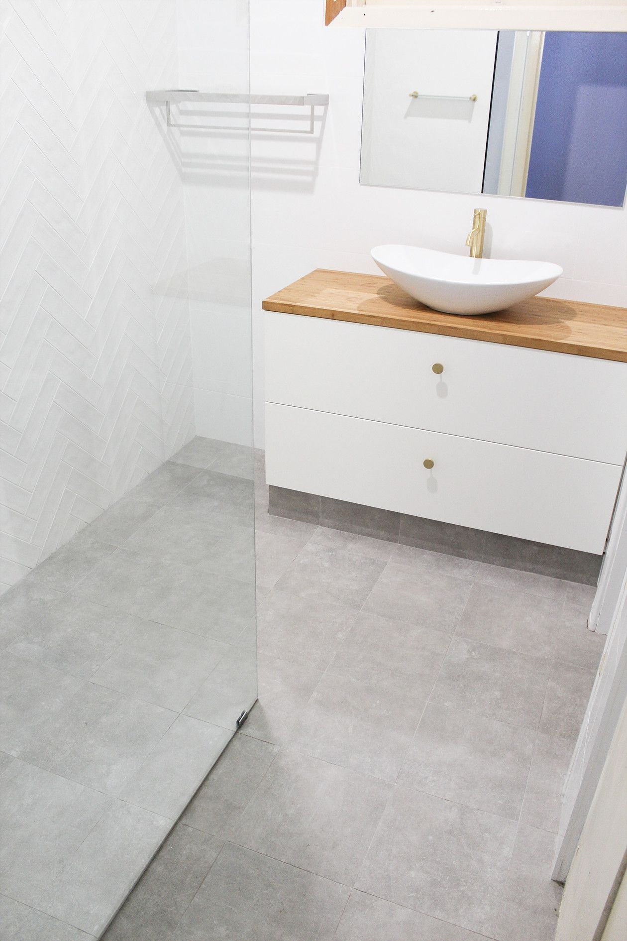 Before And After Walk In Shower Bathroom Renovations Perth Bathroomrenovati Bathro In 2020 Bathroom Renovations Perth Bathroom Renovation Trends Walk In Shower