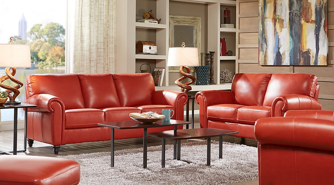 Leather Living Room Furniture Sets Black White Brown More Rooms To Go Furniture Leather Living Room Furniture Living Room Leather #rooms #to #go #leather #living #room #set