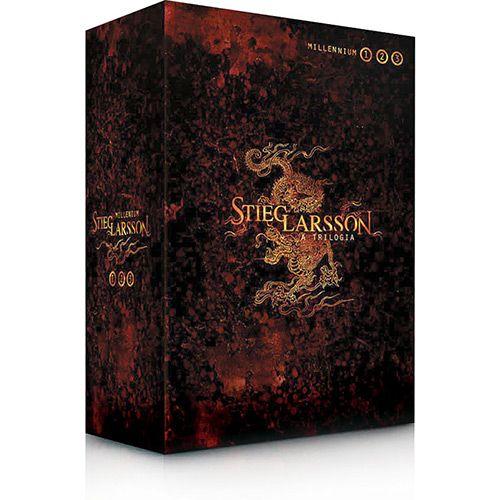 Millennium A Trilogia 3 Volumes Stieg Larsson Os Homens Que