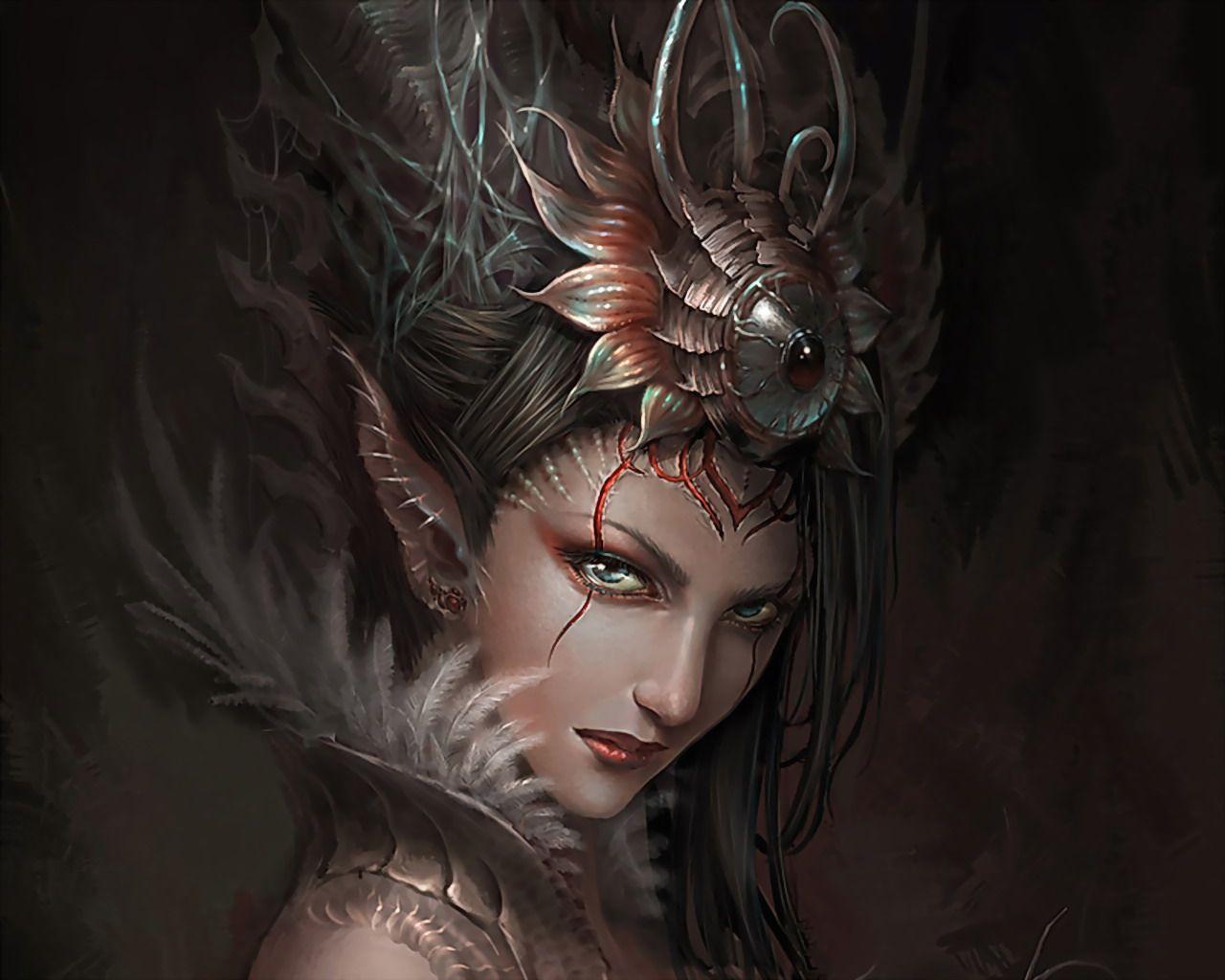 Elfe Fonds D Ecran 1280x1024 Id 251227 Fantasy Art Fantasy Characters Dark Fantasy