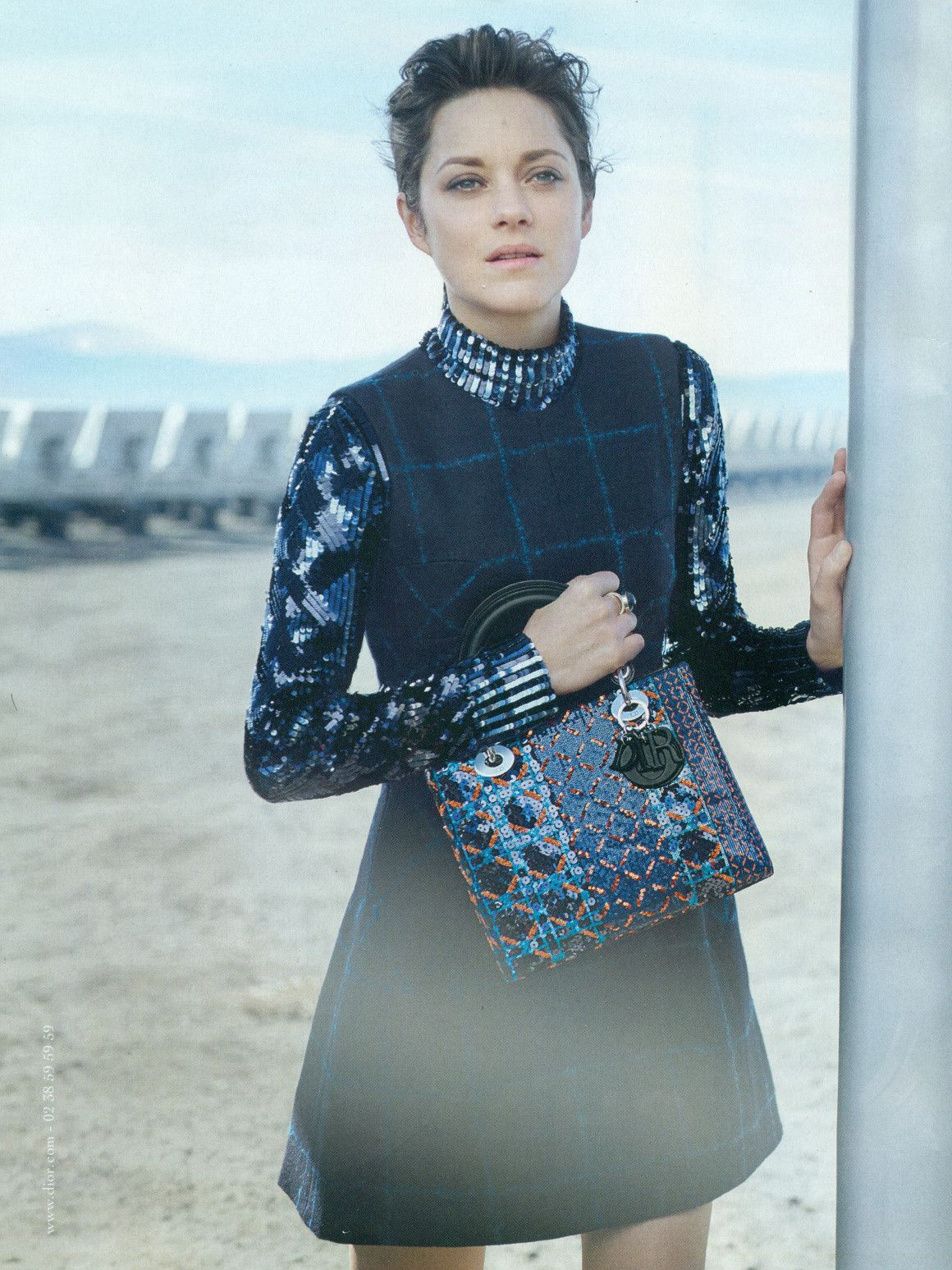 Marion Cotillard Stuns in Lady Dior's Resort 2019 Ad Campaign