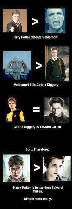 Harry Potter Characters List When Harry Potter House Quiz Buzzplay Round Harry Potter Memes Only True Fa Harry Potter Vs Twilight Twilight Funny Twilight Memes