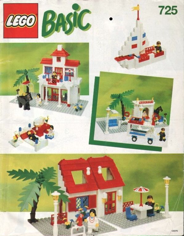 Basic Instructions With Lots Of Different Items To Build 00 Lego
