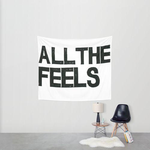 ALL THE FEELS Wall Tapestry by Julia Hendrickson | Society6