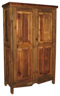 Old Wooden Pantry For Storage In Living Room Wood Pantry Cabinet Pantry Cabinet Modern Rustic Decor