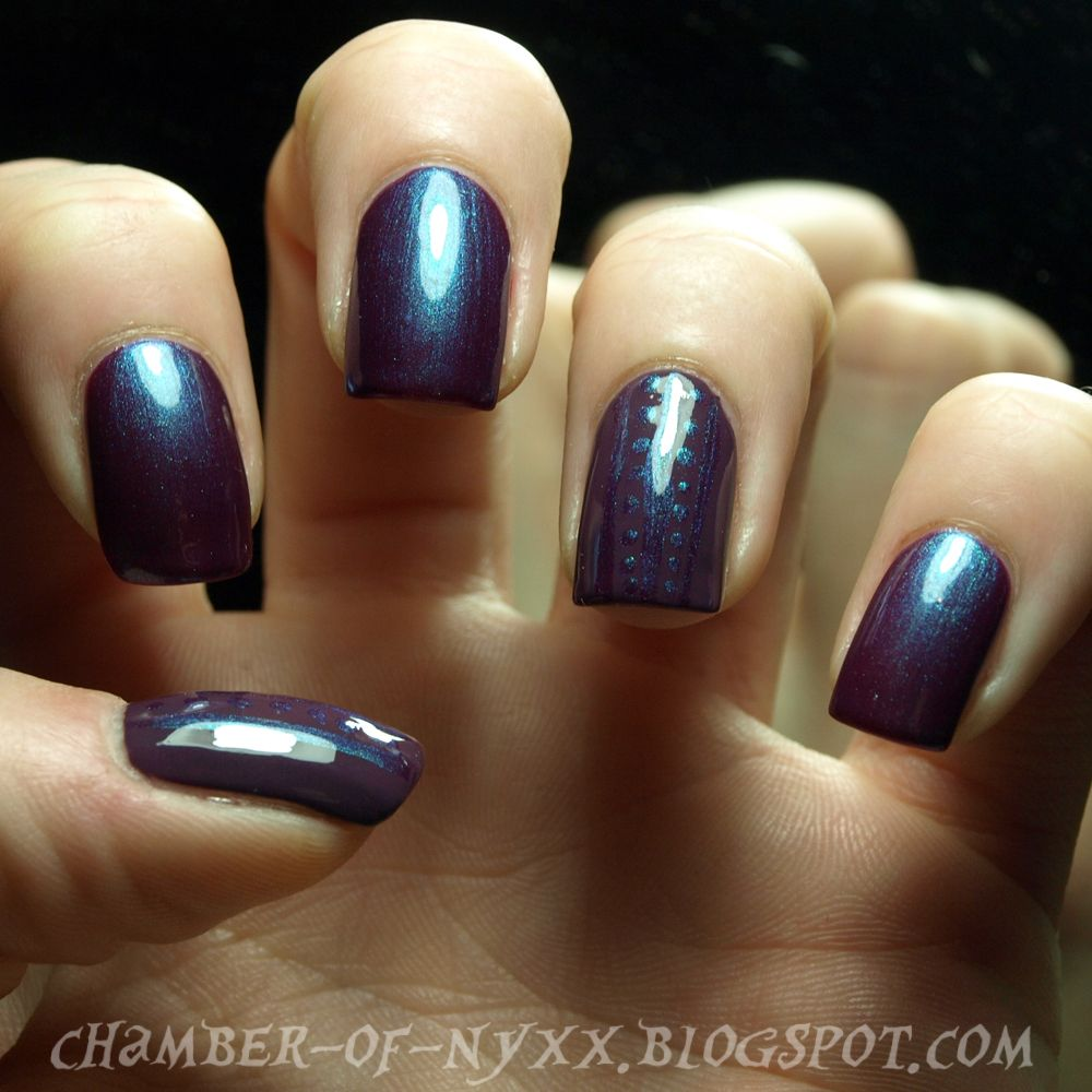 Chamber of Nyxx: [NOTD][Review] Catrice ~ 46 Berry Potter & Plumbledore (und p2 ~ 180 dim the lights!)