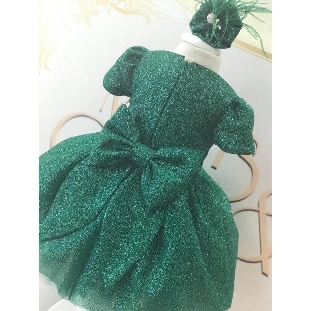 Photo of Twinkle in Green Dress- 7-9 age Clothes and Accessories> Gi …