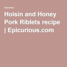 Photo of Hoisin and Honey Pork Riblets