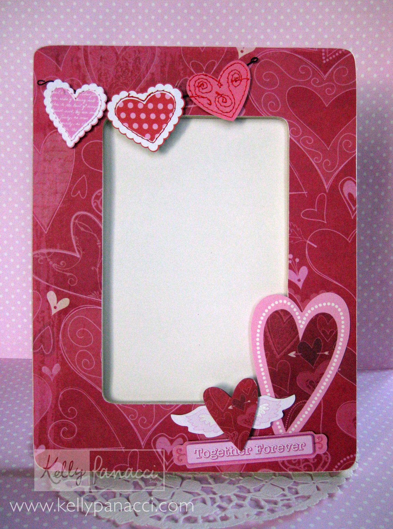 Valentine S Day Frame Kelly Panacci Craft Ideas Pinterest