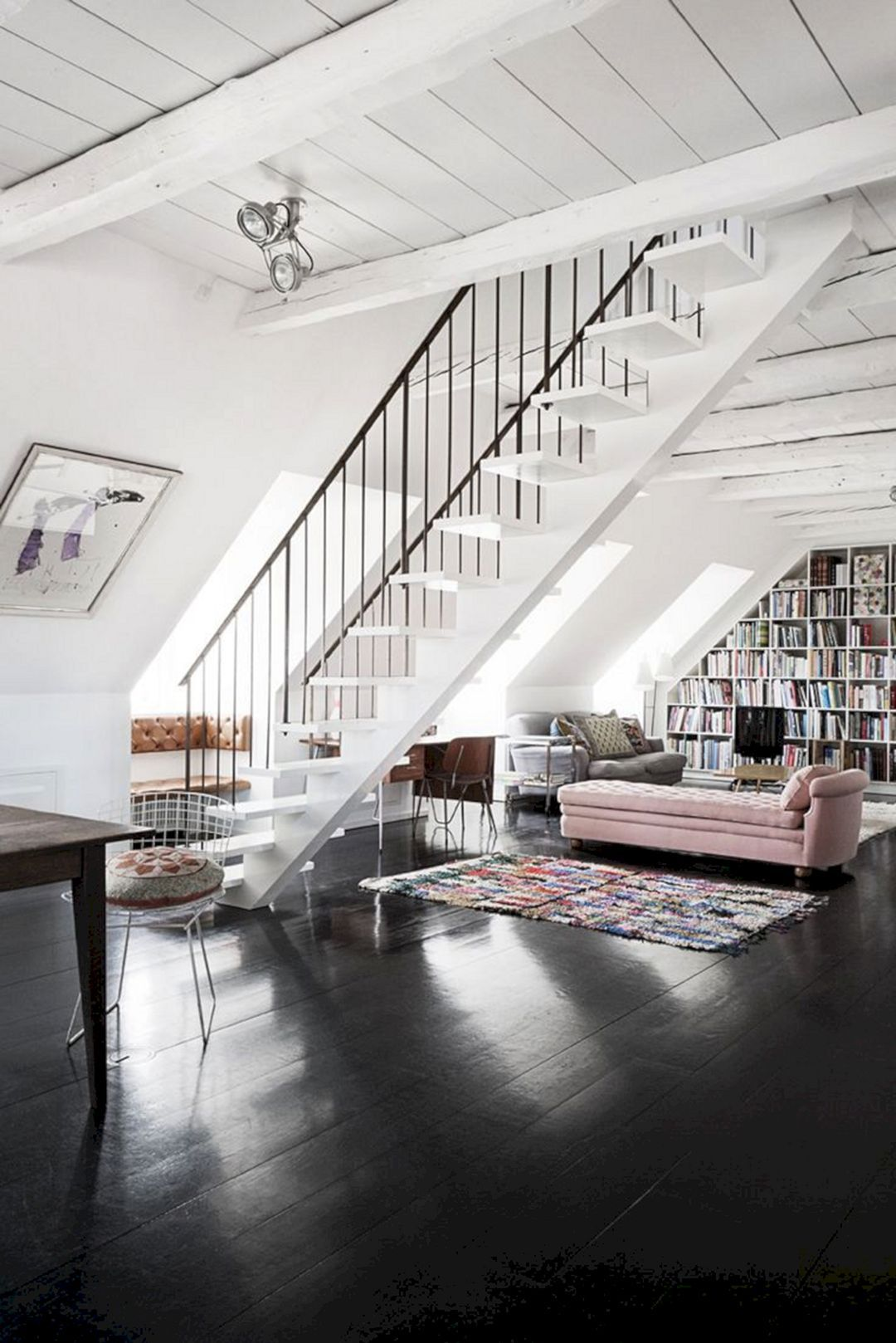 70+ Amazing Loft Living Rooms Ideas You Need To Know   Loft living ...