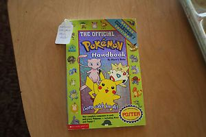 The Official Pokemon Handbook Vol. 1 by Maria S. Barbo (1999, Paperback,...