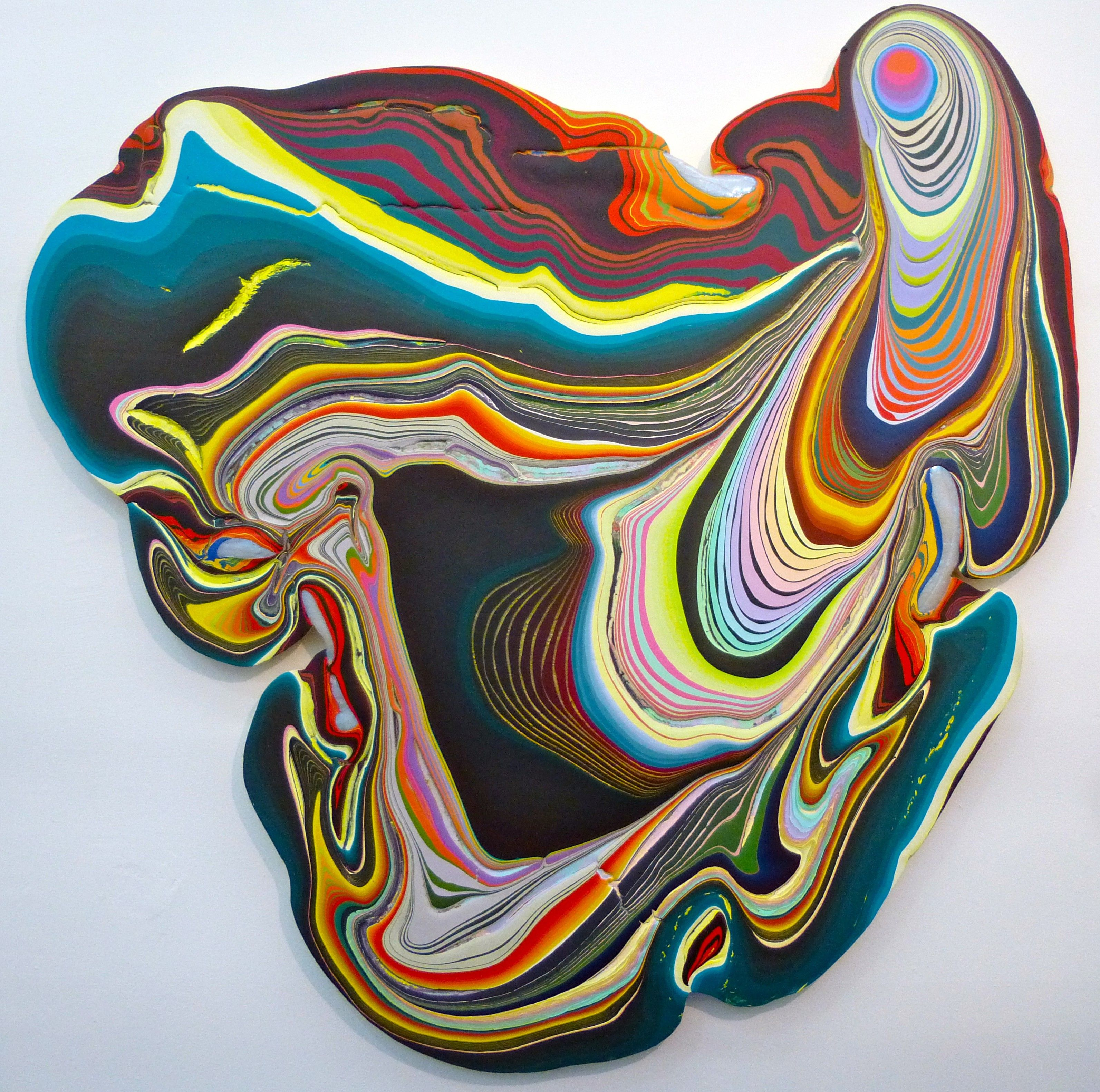 Acrylic Pouring Art, Pour Painting, Drip