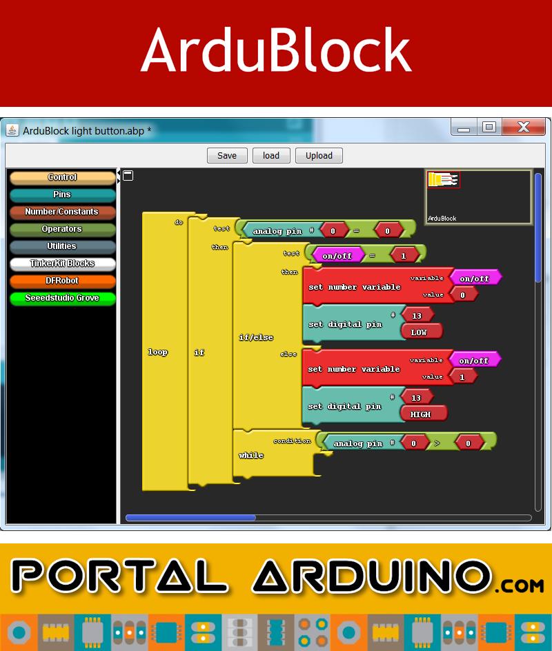 ArduBlock Curso online Programación Gráfica de Arduino Campus