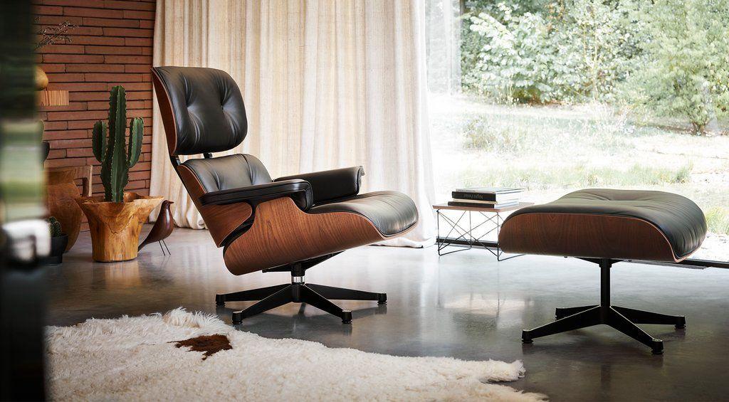 Eames Lounge Chair Ottoman Lounge Chair Design Furniture Design Chair Ottoman