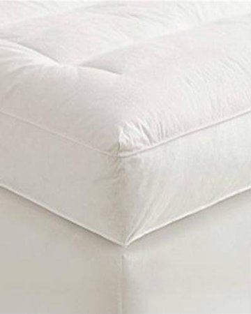 5 Full Goose Down Mattress Topper Featherbed Feather Bed Baffled