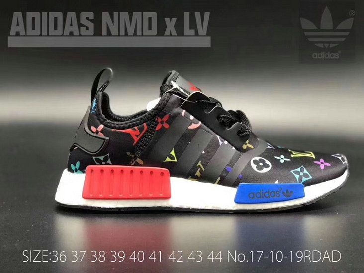 2af9ec7aea4 How To Buy Authentic LX X Adidas NMD R1 Boost Black Multicolor Shoe ...