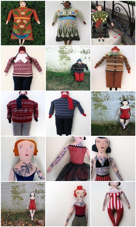 15 assorted grownups- including 7 tattooed ladies 2009 Mimi Kirchner