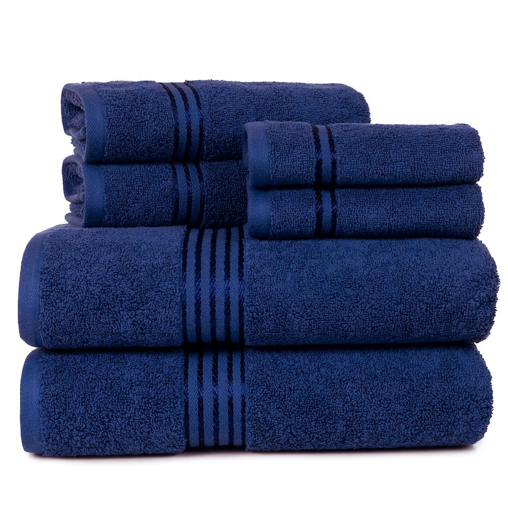 Portsmouth Home Hotel 6 Piece Bath Towel Set In 2020 Towel Set Lavish Home Bath Towel Sets
