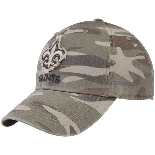 4ed1f138cc18e Men s  47 Brand New Orleans Saints Tarpoon Camo Slouch Fitted Hat by  47  Brand.  25.95. Stitched eyelets Officially licensed Made in China.