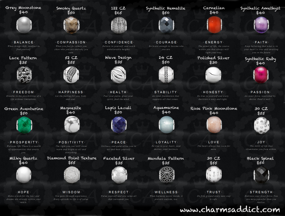pandora essence charm collection prices pandora bracelet