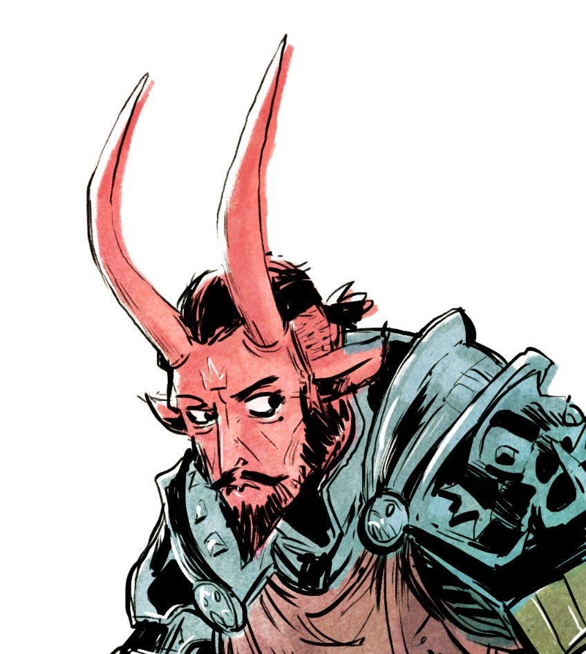 Angela Carnon image result for tiefling horns | character design