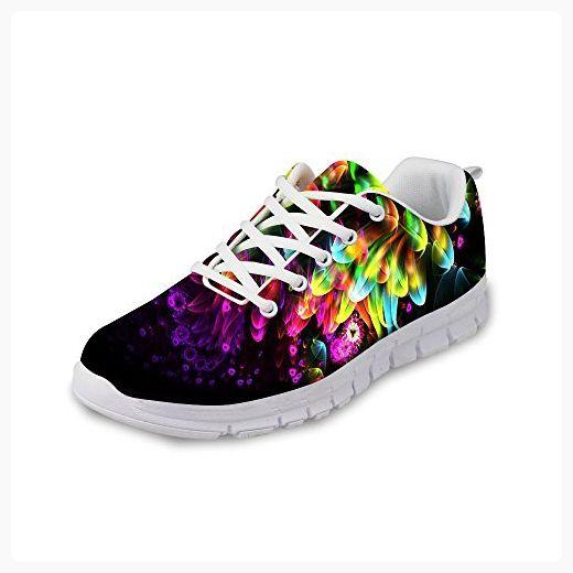 Dentelle Course Multicolore En Chaussures De Sport Occasionnels Pour Les Femmes gwbzwZjFh
