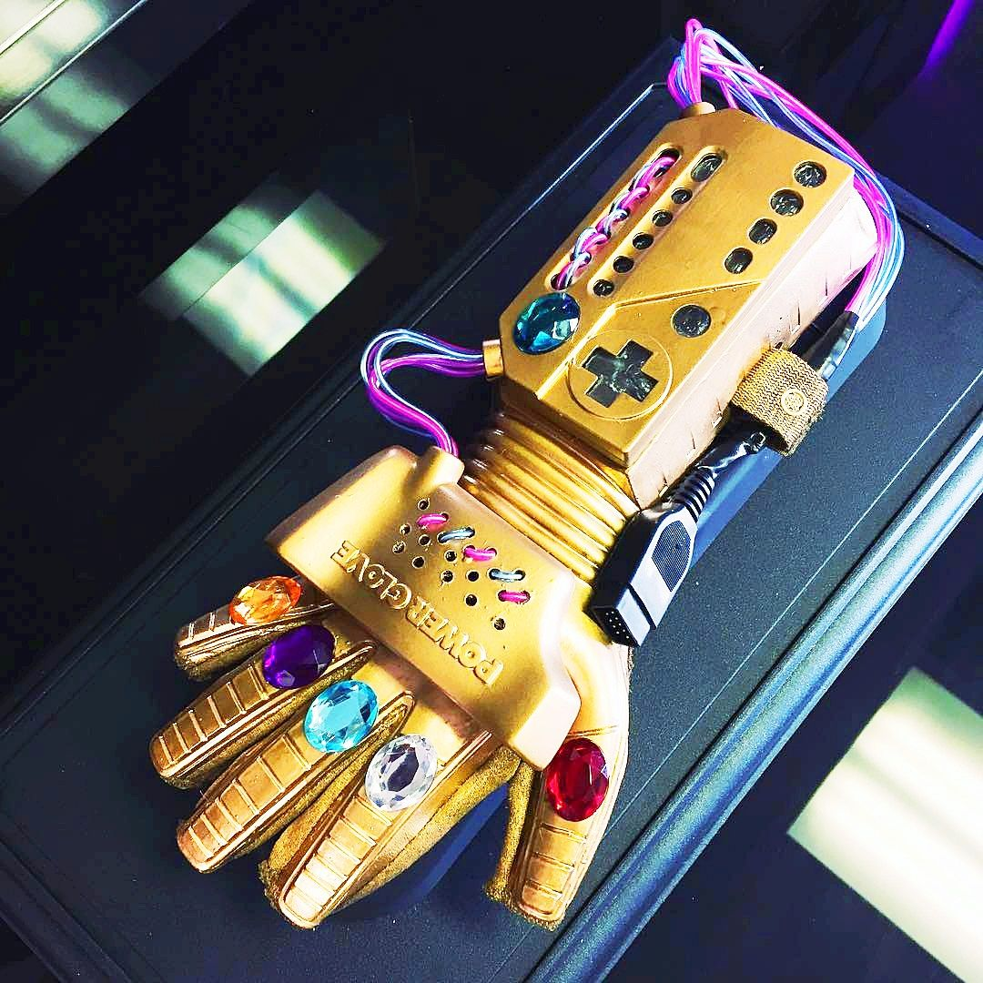 The Infinity Gauntlet Power Glove Is Among Us And It Will