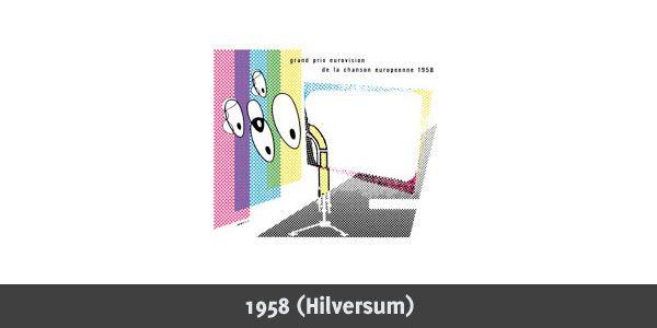 Eurovision Song Contest 1958 Logo Eurovision Song Contest