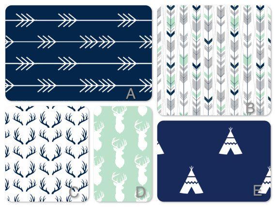 I Pinimg Com Originals B9 36 D8 B936d842d2d3336, Blue Deer Head Baby Bedding