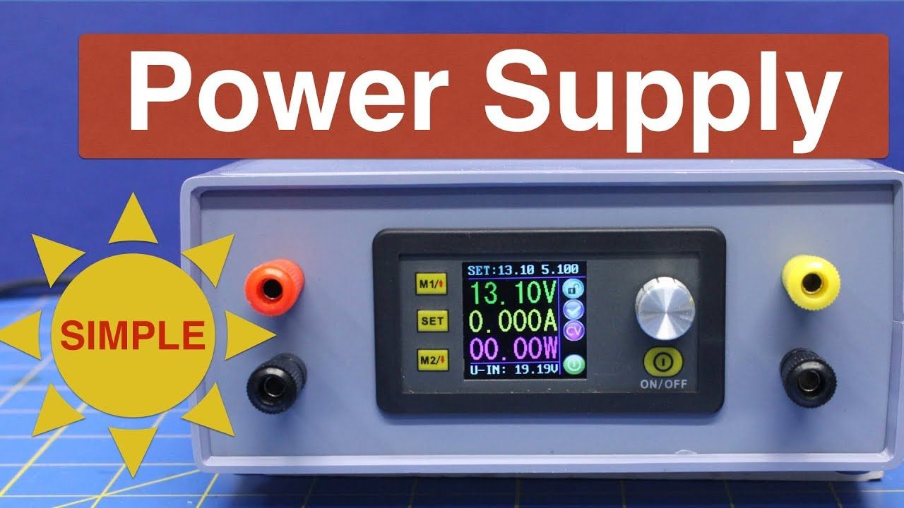 Build A Simple Power Supply In 2020 Power Supply Design Power Supply Simple