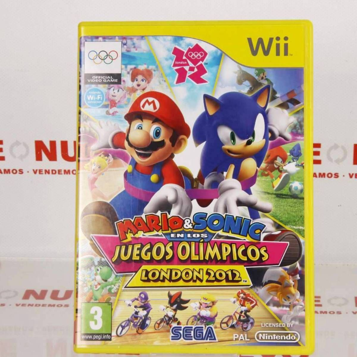 Juego Mario Sonic Juegos Olimpicos Para Wii E271903 Juego Mario