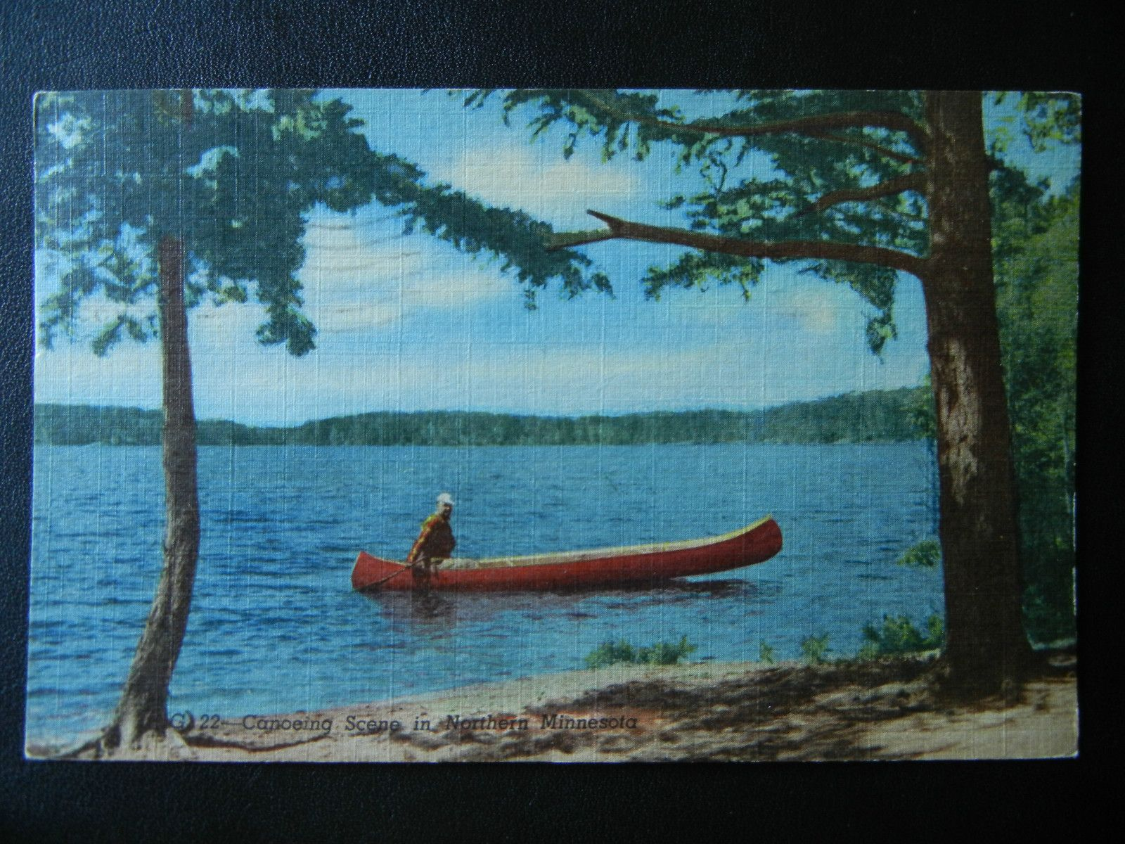 Greetings From Marcell Minnesota Postcard 1955 Grand