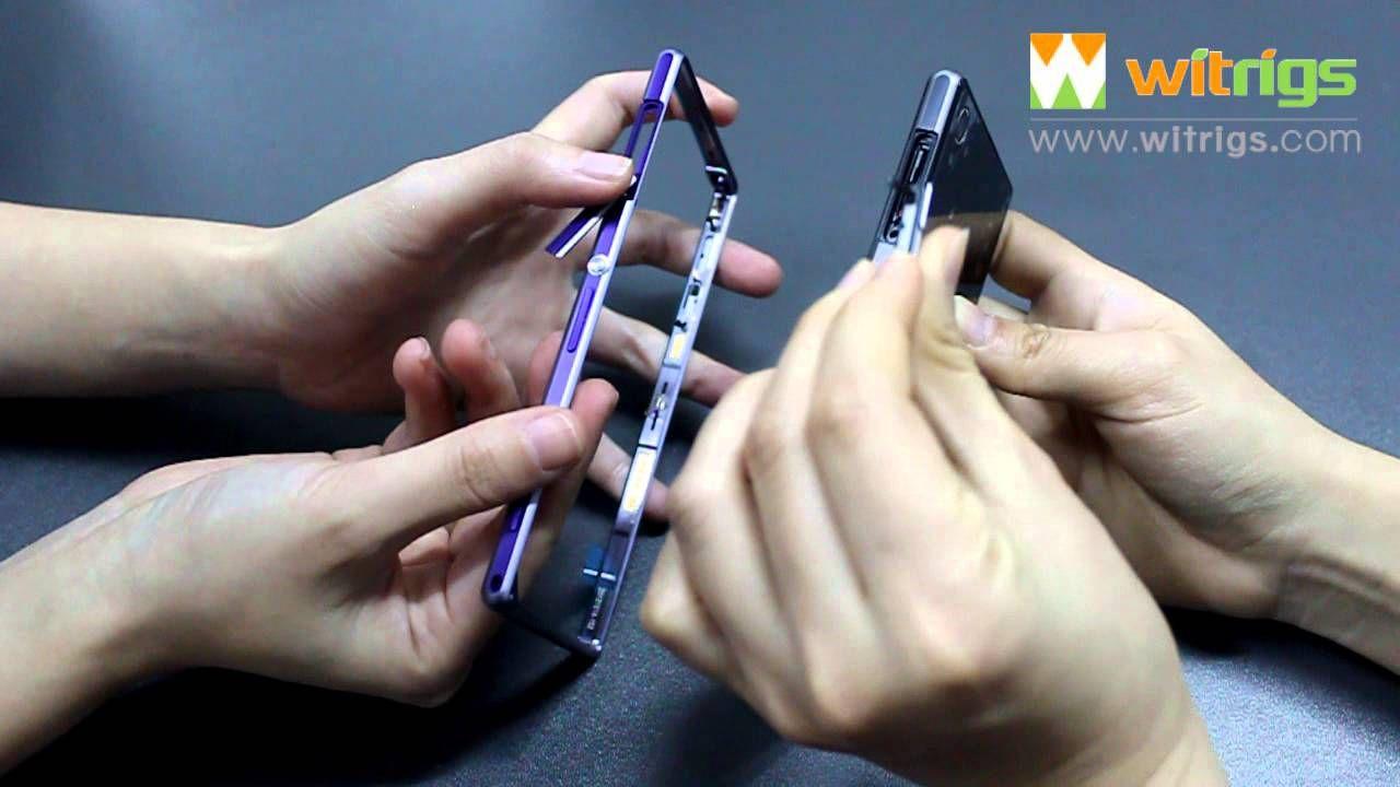 How to Replace Sony Xperia Z1 USB Port+SIM Card Slot+SD