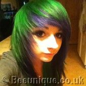 Beeunique Hair Dye Gallery Special Effects Iguana Green Photos