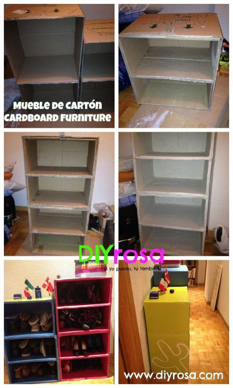 Mueble de Cartón DIY