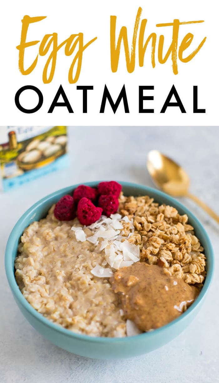 Thick And Fluffy Egg White Oatmeal Eating Bird Food Recipe Food Egg White Oatmeal Oatmeal And Eggs