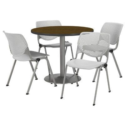 KFI Seating Round Cafeteria Table and Chair Set Tabletop Color