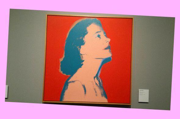 Andy Warhol, Carol Coleman, 1975 (Foto Luca Zuccala)