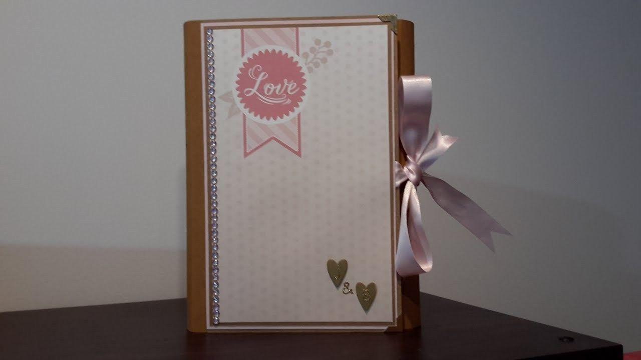 Mini album x folio using craft smith blush glam u teresa