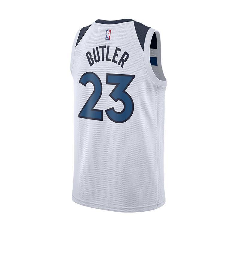 Men 23 Jimmy Butler Jersey White Minnesota Timberwolves Jersey ... 883319bfc