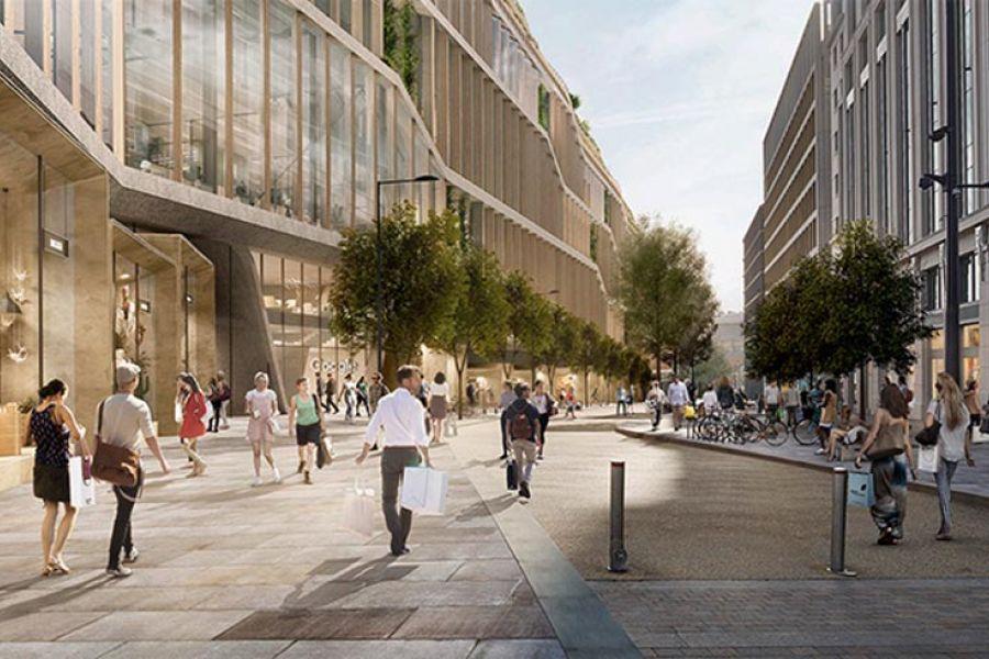 Google Hoofdkwartier Londen : Google hoofdkantoor londen architecture pinterest londen