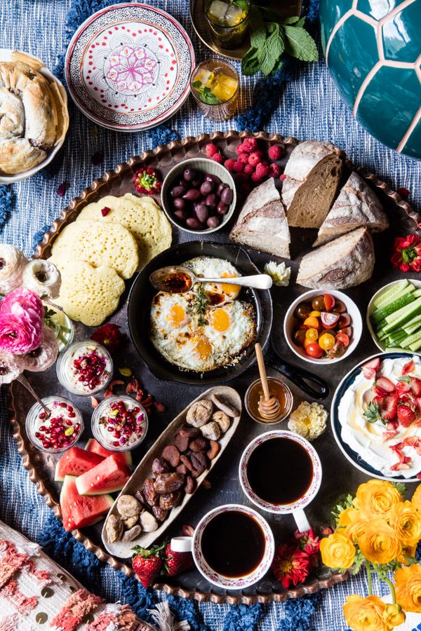 The Perfect Moroccan Brunch.