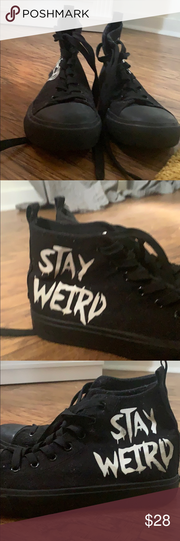"Hot Topic Riverdale Jughead ""Stay Weird"" high tops Hot Topic Riverdale Jughead ""Stay Weird"" high tops semi worn Hot Topic Shoes Flats & Loafers #hottopicclothes Hot Topic Riverdale Jughead ""Stay Weird"" high tops Hot Topic Riverdale Jughead ""Stay Weird"" high tops semi worn Hot Topic Shoes Flats & Loafers #hottopicclothes"