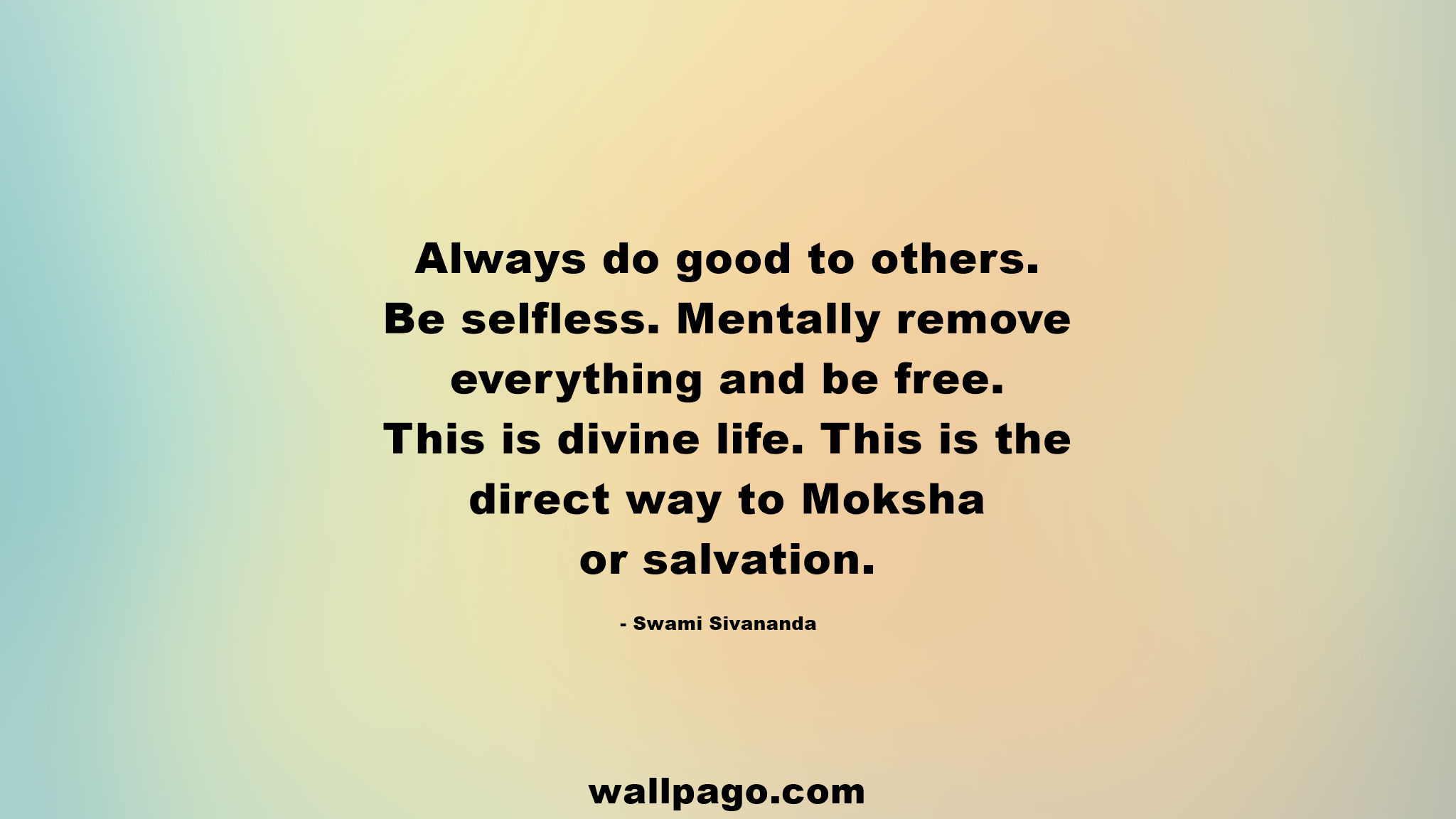 Always do good to others quote   Wallpago | Quotes Wallpapers