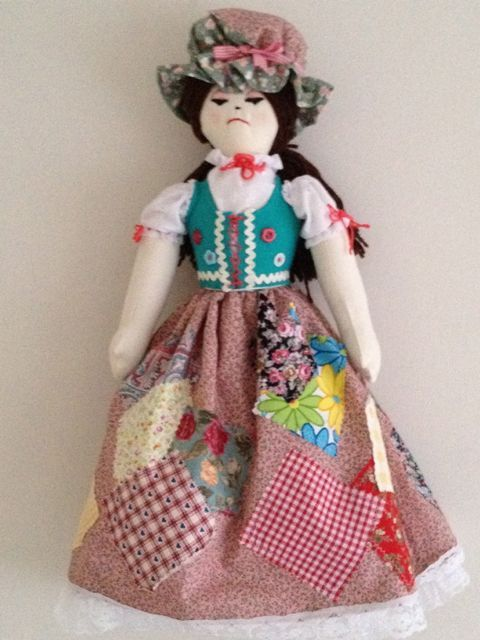 Cinderella Topsy Turvy Rags To Riches Rag Doll Dolls Pinterest