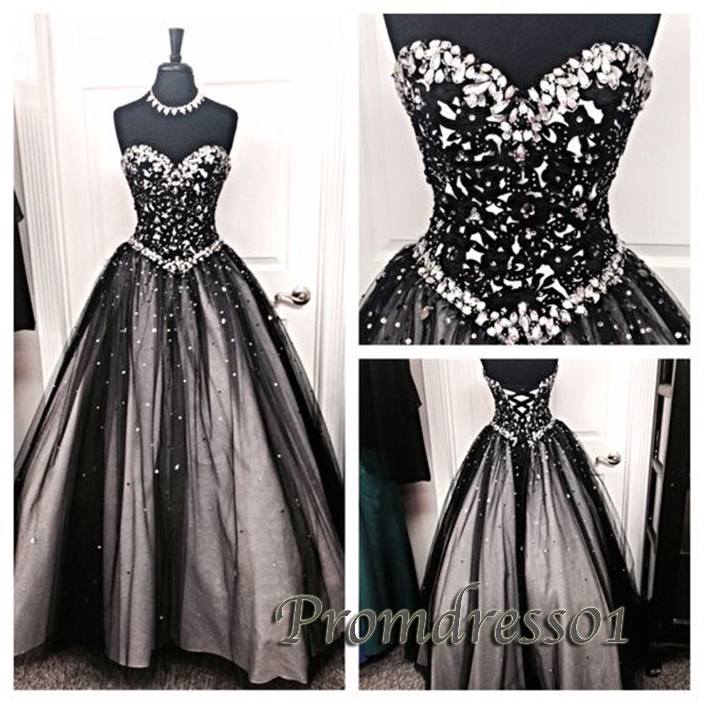Poofy Ball Gown Prom Dresses