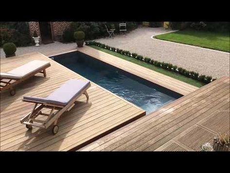 Terrasse Mobile Coulissante De Piscine Un Rolling Deck En Un