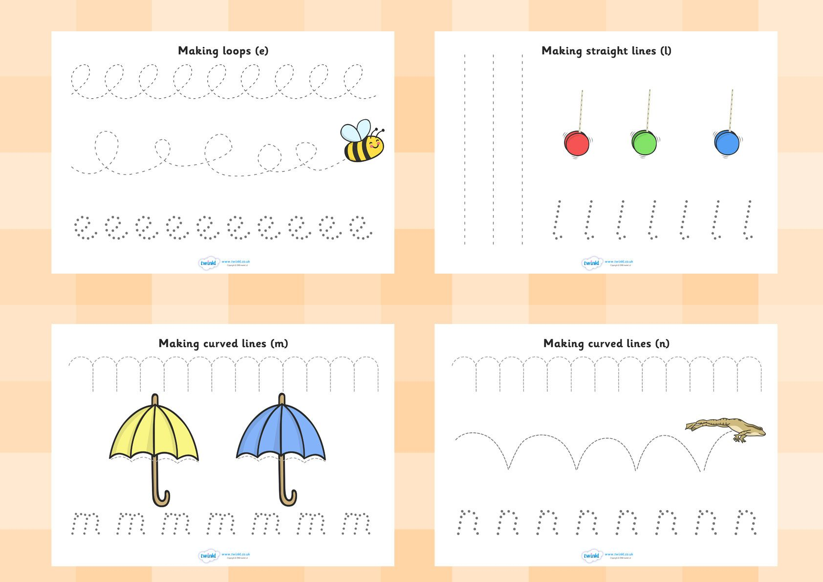 Twinkl Resources Gt Gt Pencil Control Worksheets Gt Gt Printable Resources For Primary Eyfs Ks1 And
